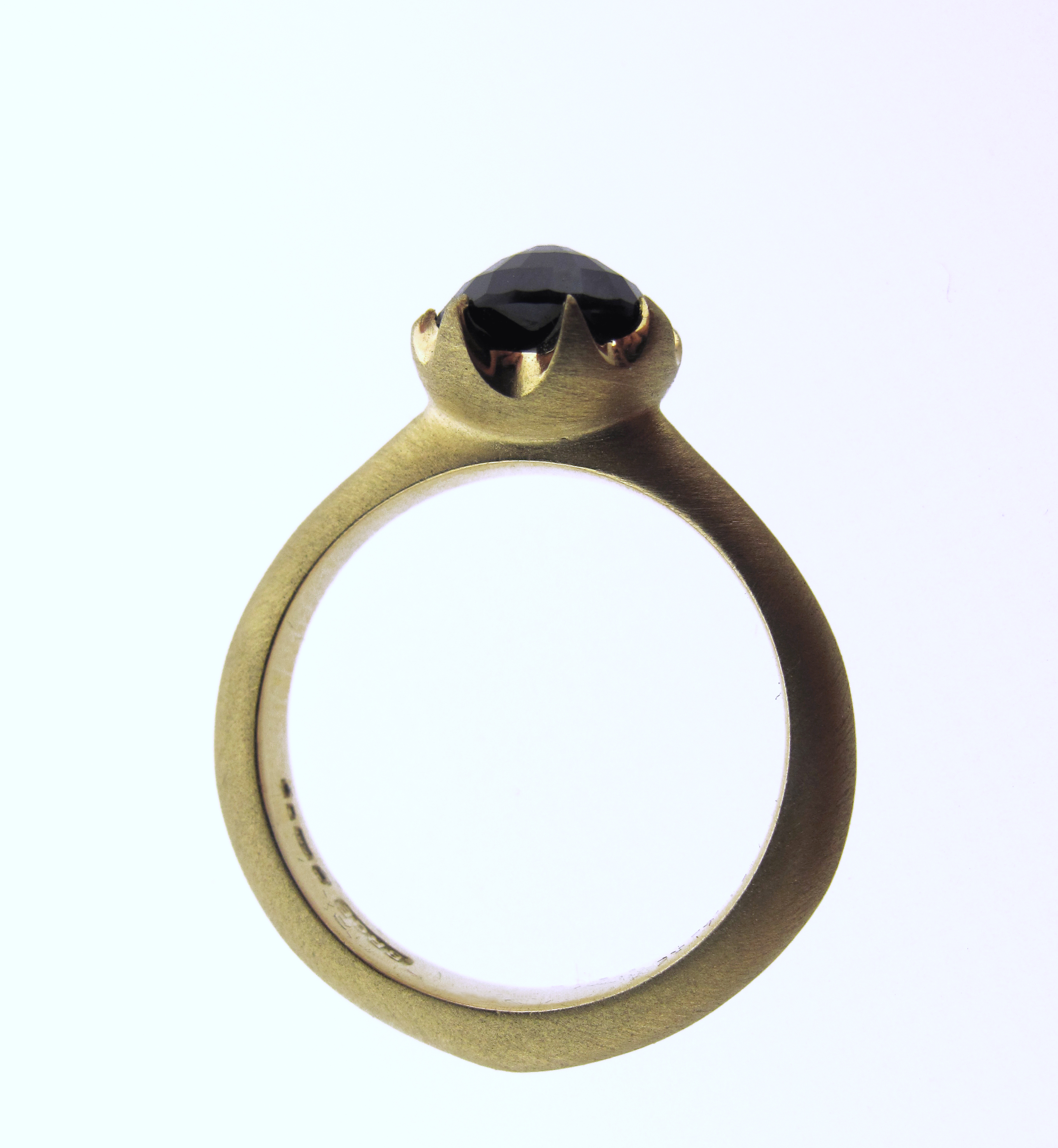 in gold with lyst product gallery jewelry icon normal corundum studs gucci and yellow black rings ring