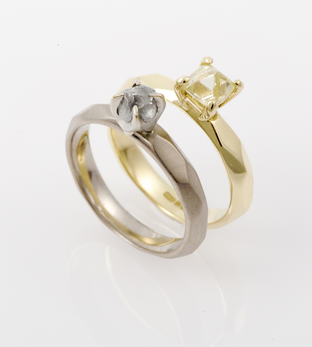 rings o gold sarah at halo diamond cut rose and web in burst edit diamonds rough white the raw jewelry wedding