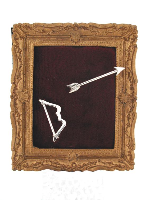 Bow and arrow studs