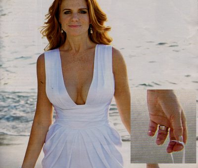 Patsy Palmer in Hello Magazine - Baroque Exclusive
