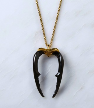 Large Stag Necklace