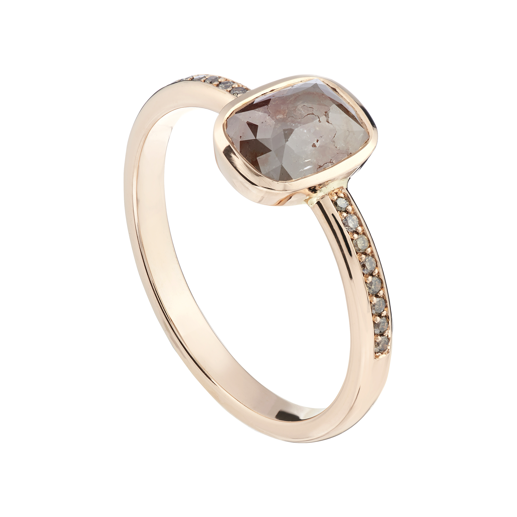 gia rose product in round rings home engagement modern ring brilliant diamond cut gold